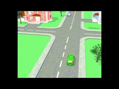 Križišče enakovrednih cest - primer 15