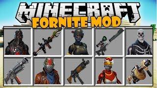 Minecraft - Las Armas Más Poderosas De Fornite En Minecraft - Minecraft Mod