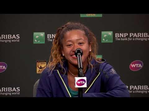 BNP Paribas Open 2018: Naomi Osaka 1R Press Conference