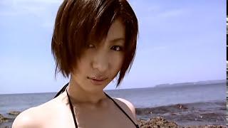 Mariko Ohkubo 大久保麻梨子 3 - Black Bikini 大久保麻理子 動画 1
