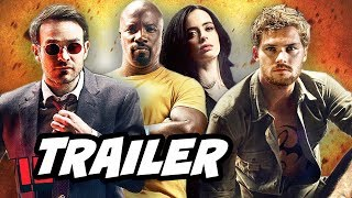 Defenders Episode 1 Trailer - Daredevil, Luke Cage, Iron Fist and Jessica Jones