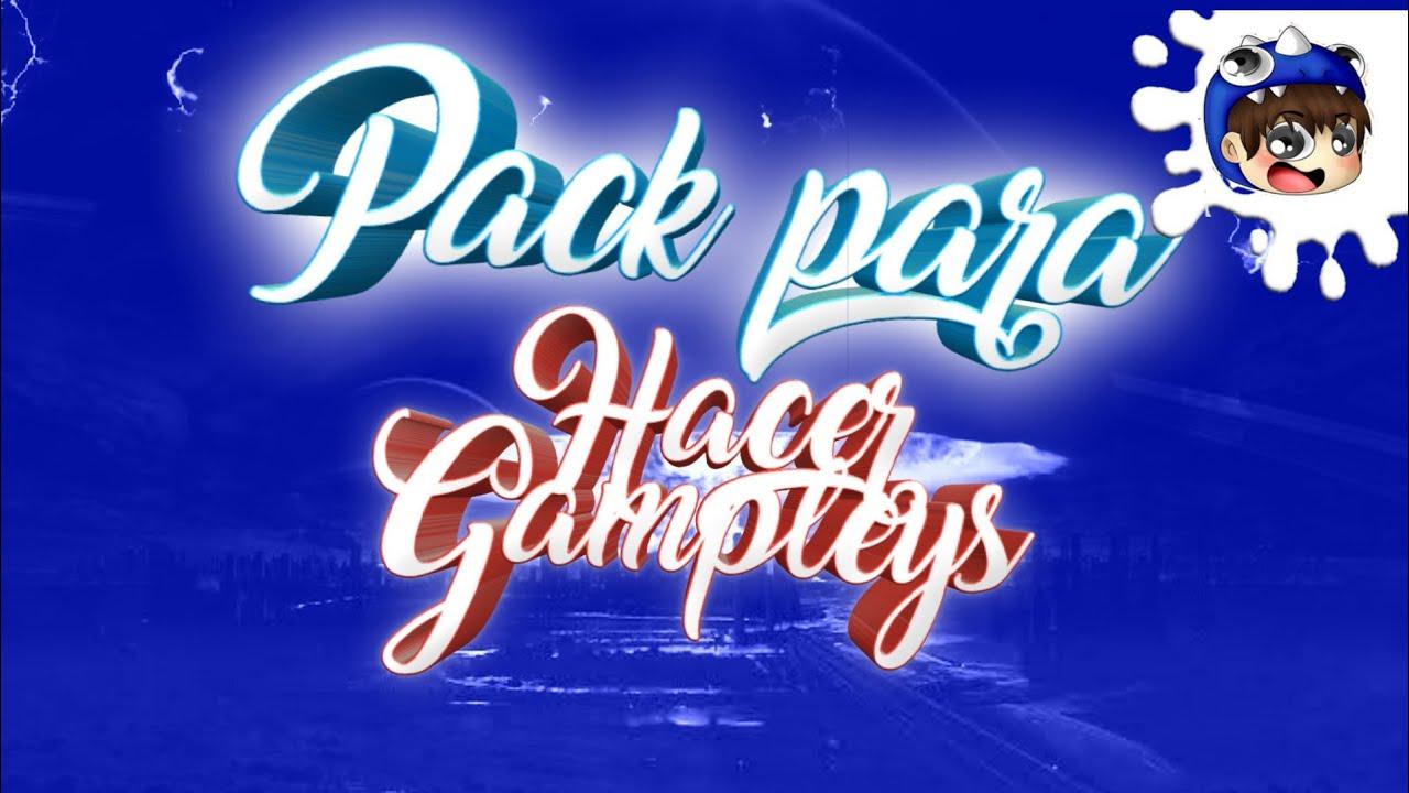 !! MEGA PACK PARA HACER GAMPLEYS   ANDROID / PC / MUSICA SIN  COPYRIGHT/RENDERS Y MAS