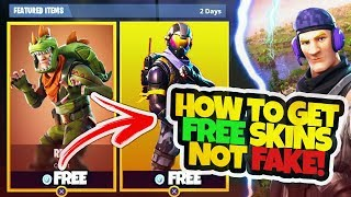 Comment obtenir DES SKINS GRATUITS à FORTNITE! - SKINS LEGENDARY! (Fortnite Battle Royale)