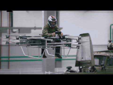 Kalashnikov unveils electric-powered flying car