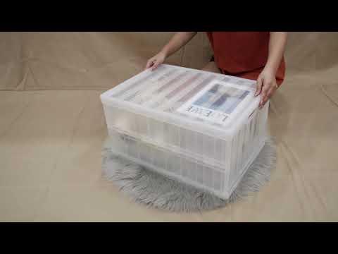 MyBig Warehouse独家定制款PP材质可折叠式收纳箱