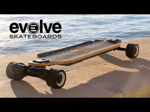 Evolve Bamboo GTX!  High Powered Electric Skateboard  YouTube
