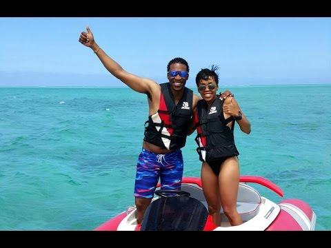 gugu and letshego zulu enjoy the ultimate family holiday