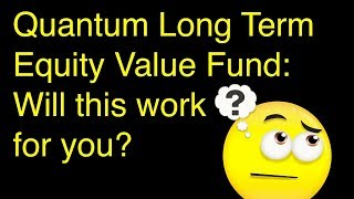 Quantum Long Term Equity Value Fund Review: Will this work for you?