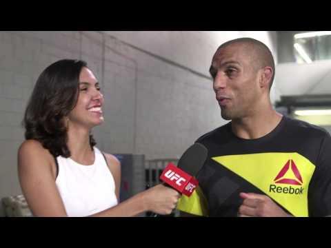 Fight Night Fortaleza: Edson Barboza Backstage Interview