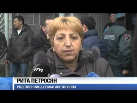 В Армении начался суд над российским военным, убившим семью в Гюмри