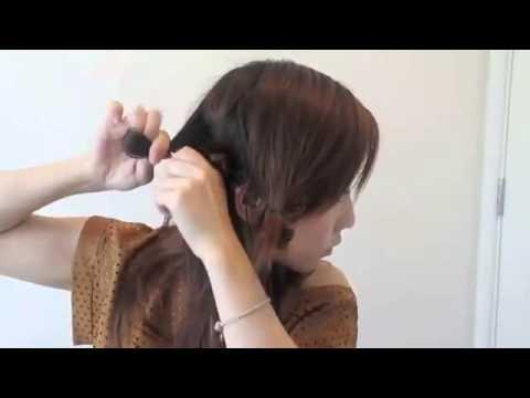 Dạy cách tự làm tóc uốn tóc xoăn không cần nhiệt