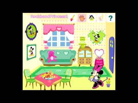 Mickey Mouse Clubhouse Game - Decorate House Game - Mickey Mouse Online Games