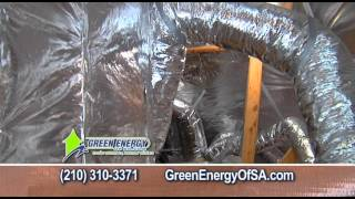 Green Energy of San Antonio Winter 2013 Radiant Barrier Commercial Thumbnail