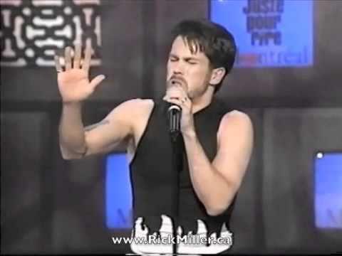 Rick Miller sings