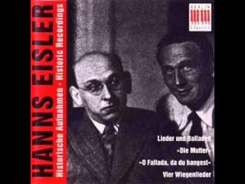 Hanns Eisler - Historische Aufnachmen