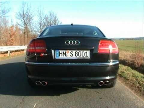 Audi S8 5.2 FSI V10 Sound Check