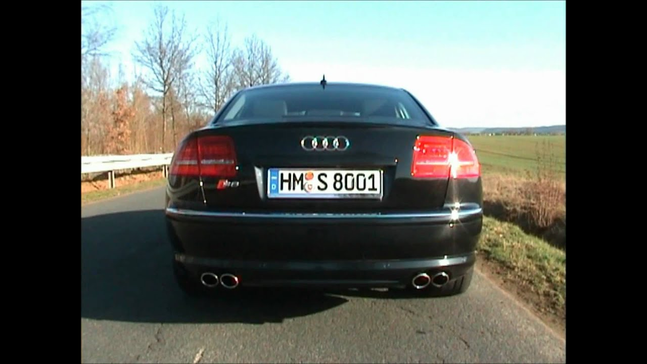 audi s8 5 2 fsi v10 sound check youtube. Black Bedroom Furniture Sets. Home Design Ideas