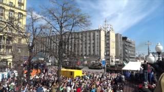 Парад Победы 2015 г..Юбилей 70 лет 9 мая.Москва.Тверская улица !
