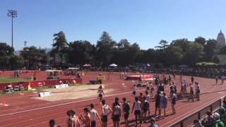 stanford invitational 2016 boys dmr heat one