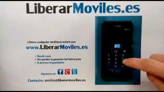 instrucciones liberar sony xperia l c2105 c2104 how to unlock your mobile sony xperia l c2105