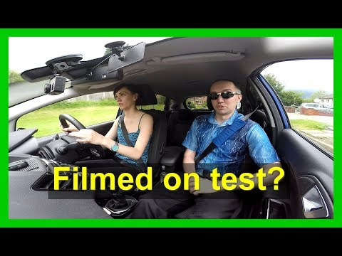 Driving tests filmed by examiners with bodycams?