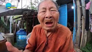 Bà cụ 82 tuổi dựng lều sống một mình ở nơi không ai dám tới