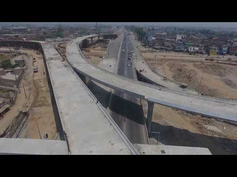 Pindi Bypass Aziz Cross Gujranwala Latest 19 May 2017