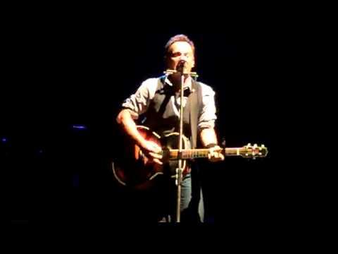 Factory (acoustic) Bruce Springsteen Philadelphia 09/03/12