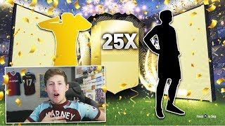 OPENING 25X OP 2 PLAYER PACKS!! - FIFA 18 PACK OPENING