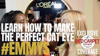 كيفية إنشاء الكمال عين القط مع لوريال باريس المكياج الفنان ، نيسان / أبريل شاني