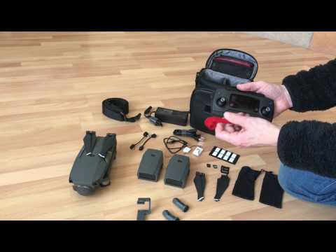 Packing the Mavic Pro
