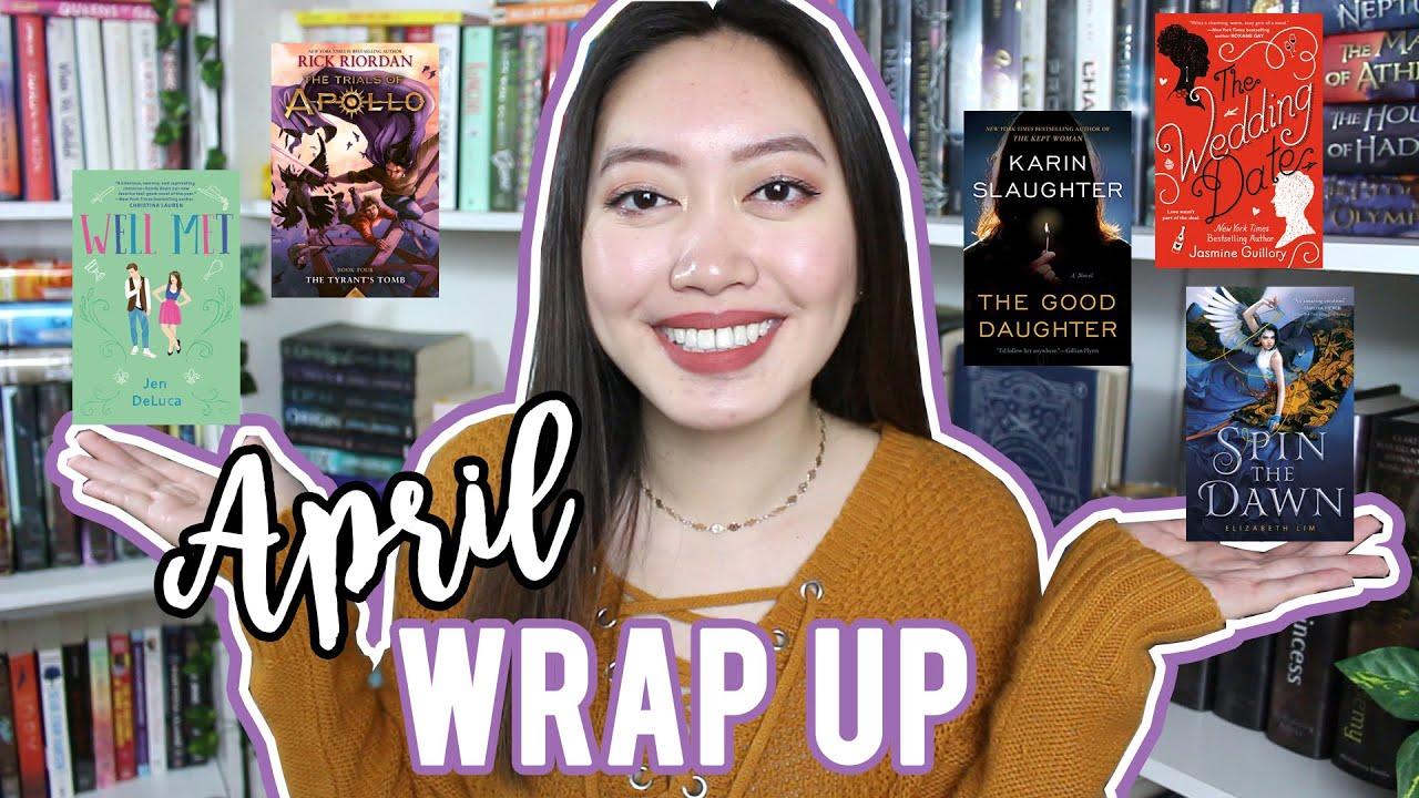 APRIL WRAP UP 2020 | Books I Read in April