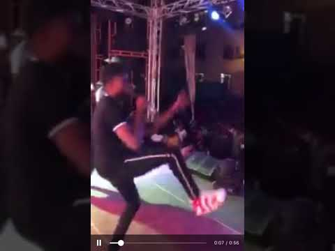 Ebony On Her Bed Show Crazy Performance At Accra Technical University Youtube