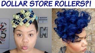ROLLER SET- ROLLER SET NATURAL HAIR
