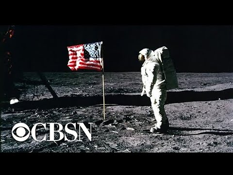 """JFK's """"great space race"""" and Trump's 21st century moonshot"""