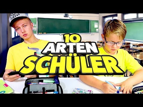 10 Arten Schüler - Lappen / Kek / Alpha Kevin ... 😂 Das lustigste Video was du heute sehen wirst