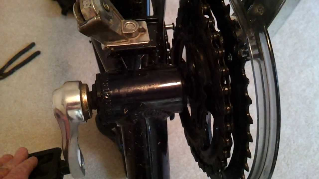 Bad Axle in Hub - Schwinn Trailway