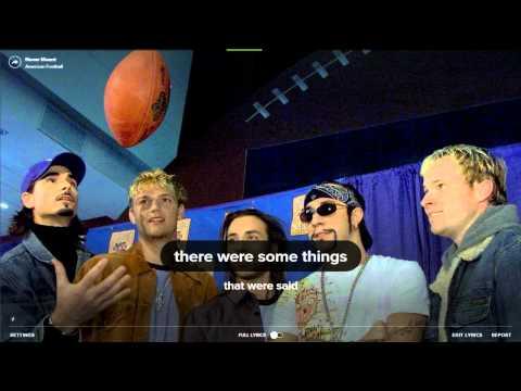 Spotify lyrics presents American Football - Never Meant