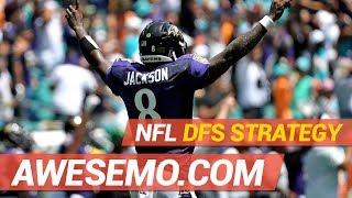 NFL DFS STRATEGY SHOW WEEK 3 RECAP 2019 FANTASY FOOTBALL DRAFTKINGS FANDUEL YAHOO