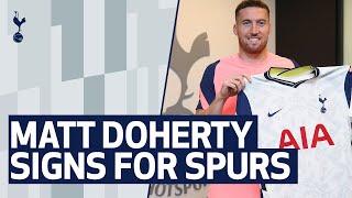 MATT DOHERTY'S FIRST SPURS INTERVIEW
