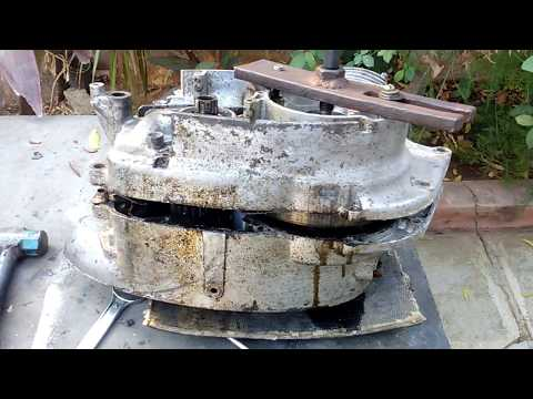 How to open Jawa or yezdi engine main chambers(for spares 9491220222)