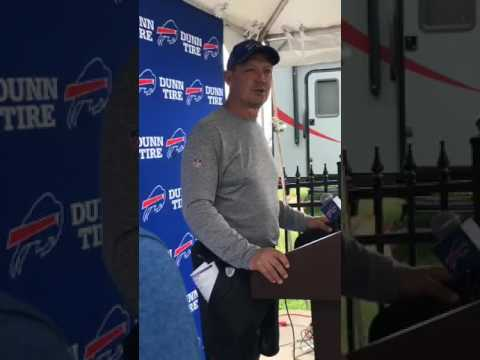 Buffalo Bills Training Camp Day Two | Rick Dennison