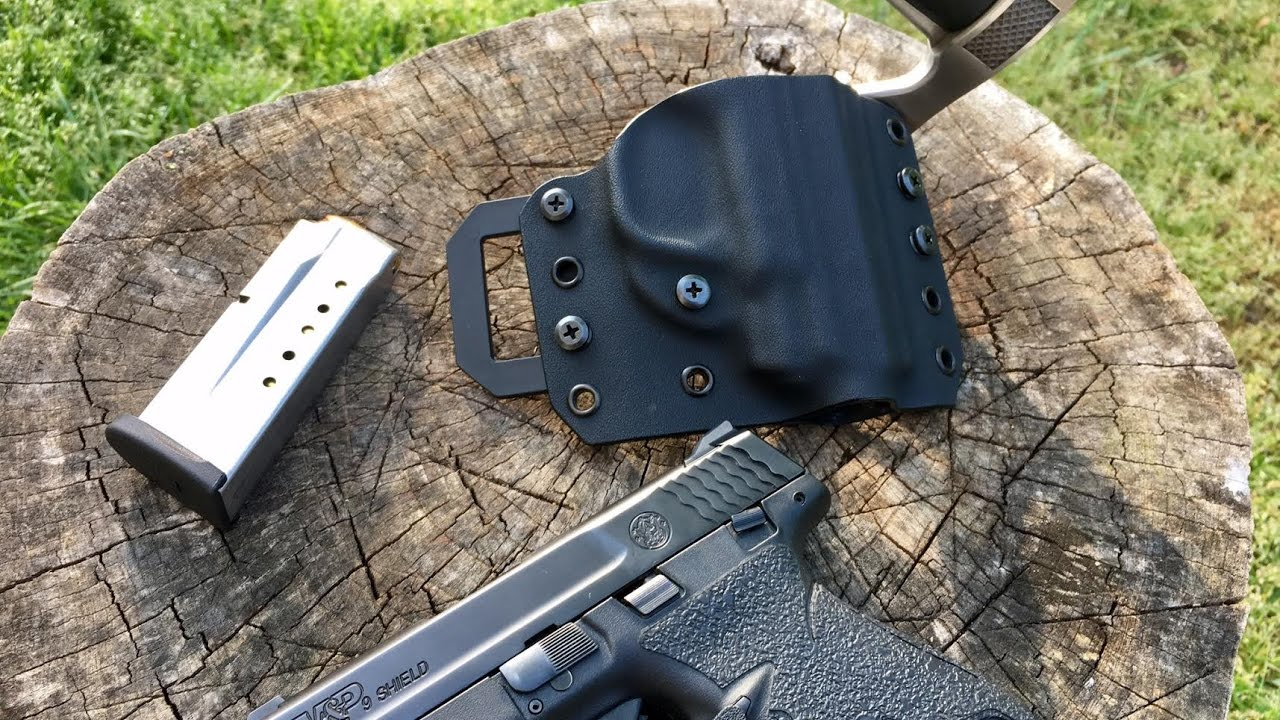 OWB Holster Review | M&P Shield 9mm | Formidable Force Holsters