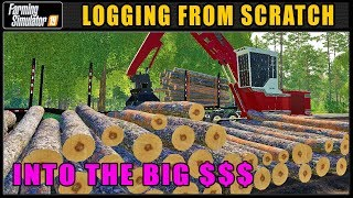 High Production Day | Farming Simulator 2019 | Logging From Scratch | Grizzly Mountain #32