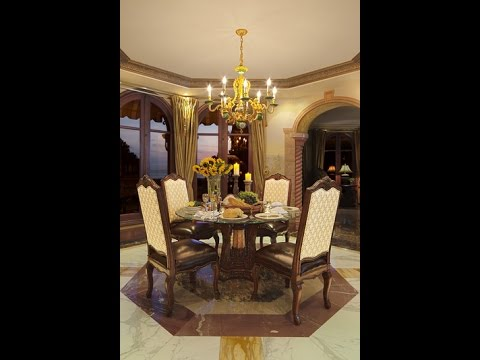 Victoria Palace Round Dining Room Set by Michael Amini