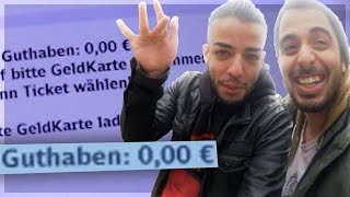 Ohne Geld in Frankfurt... | Mit Rapper Sami | De La Rue