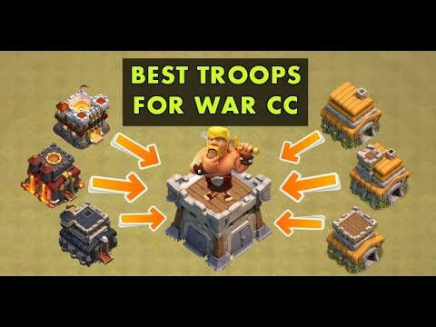(Hindi) Clash Of Clans Best Tips & Tricks For Donation In WAR CC..