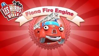 Les Héros de la Ville - Fiona Fire Engine - Court-métrages animés pour les tout-petits !