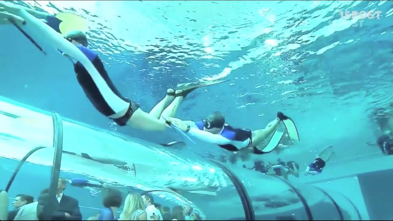 Puedes aprender a bucear en la piscina m s profunda del for Piscina mas profunda del mundo