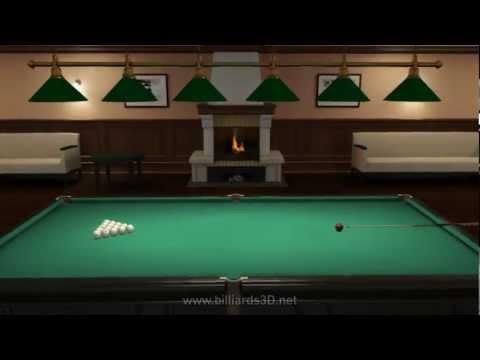 Бильярд онлайн. Играйте в онлайн бильярд на Billiards3D.net